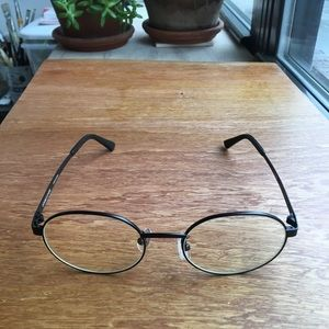 "DOUBLE LOVERS GLASSES ""MATCHES"" clear optical lens"